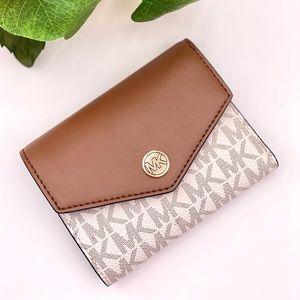 Michael Kors  Flap Bifold Wallet